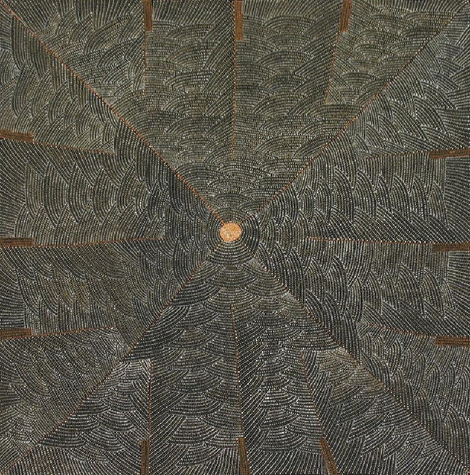 Bush Potato - MLPM15908 by Margaret Loy Pula