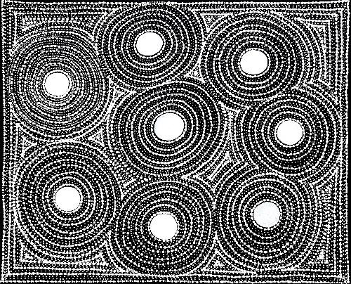 Watiya-warnu Jukurrpa (Seed Dreaming) - MJRWU223/21