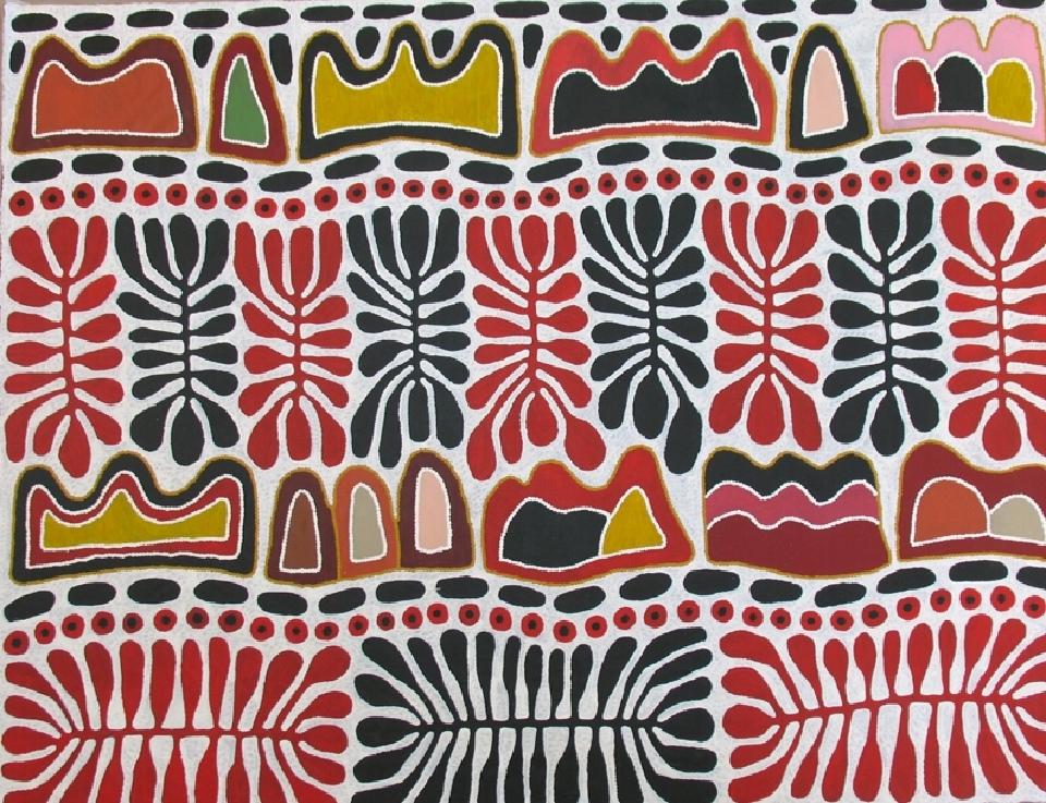 Watiya Irantji - MITT2081 by Mitjili Napurrula Collaborative