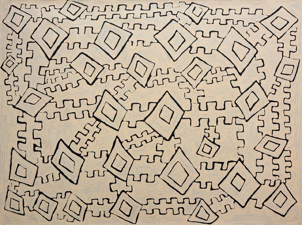 Untitled - NYTG0001 by Nyilyari Tjapangati