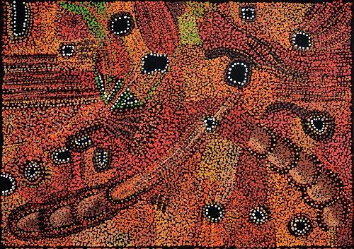 Kalaya Tjukurrpa (Emu Dreaming) - PBAG0027