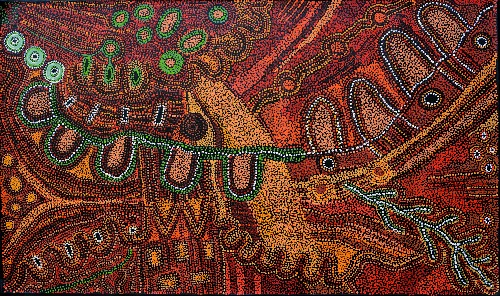 Kalaya Tjukurrpa (Emu Dreaming) - PBAG0029