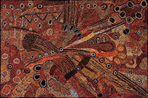 Kalaya Tjukurrpa (Emu Dreaming) - PBAG0030