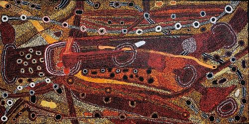Kalaya Tjukurrpa (Emu Dreaming) - PBAG0033
