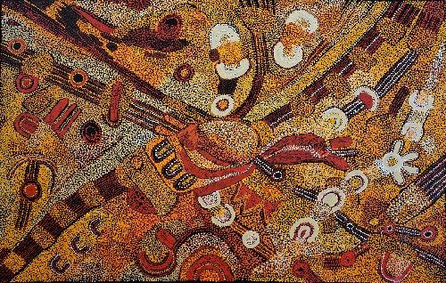 Kalaya Tjukurrpa (Emu Dreaming) - PBAG0034