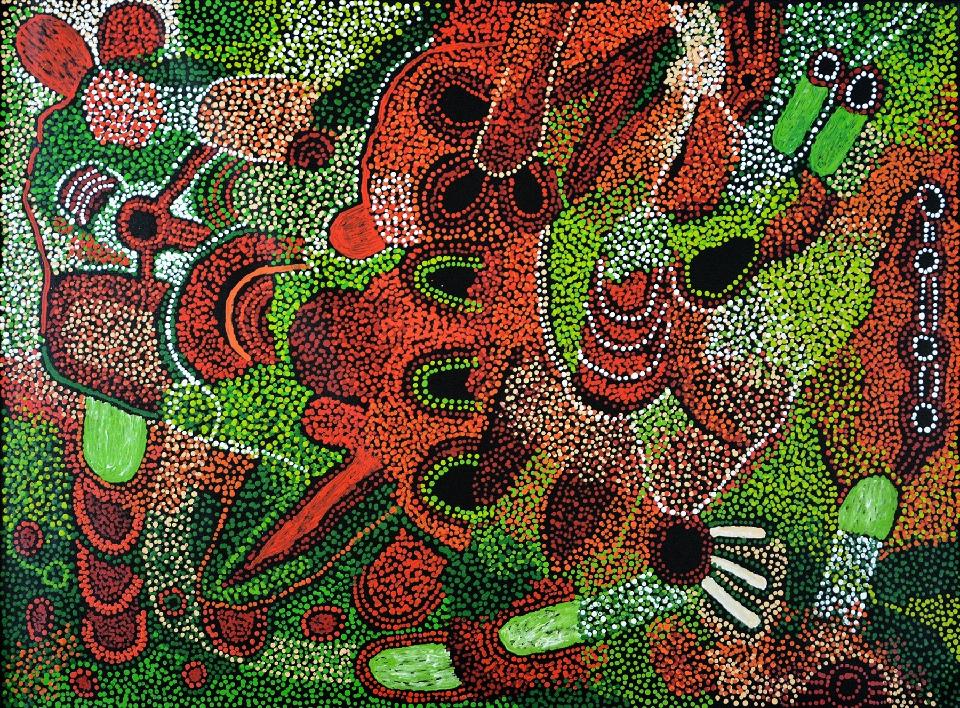 Kalaya Tjukurrpa (Emu Dreaming) - PBAG0035