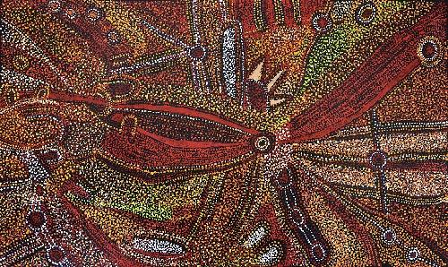 Kalaya Tjukurrpa (Emu Dreaming) - PBAG0039