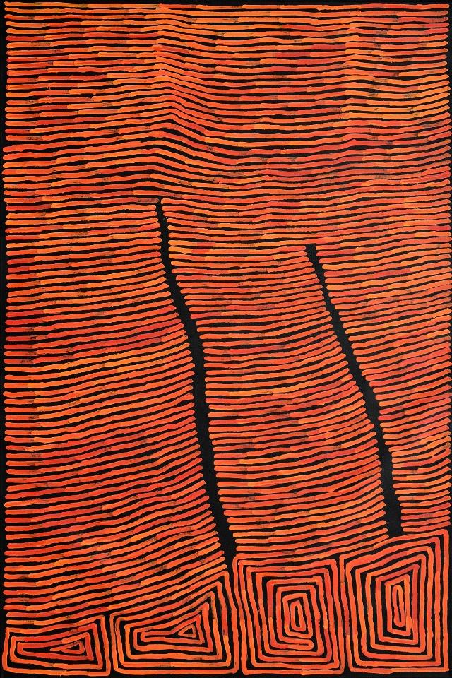 Tingari - Fire Dreaming - RTJHF04/0516 by Ronnie Tjampitjinpa