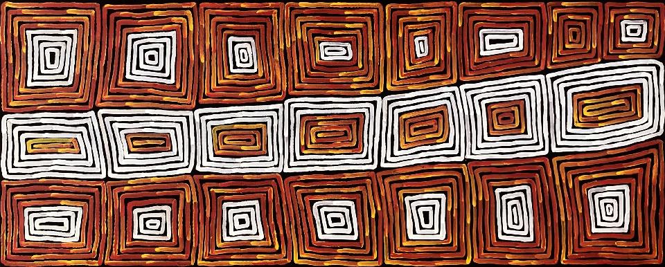 Tingari - RTJMG0001 by Ronnie Tjampitjinpa