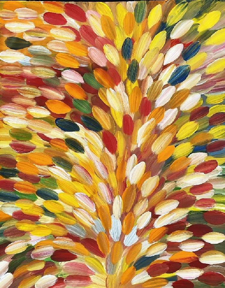 Bush Medicine Leaves - RMPG0002 by Roseanne Morton Petyarre