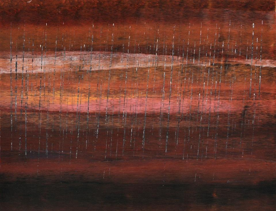 Stinging Rain Port Douglas - RNC20140701 by Rosella Namok