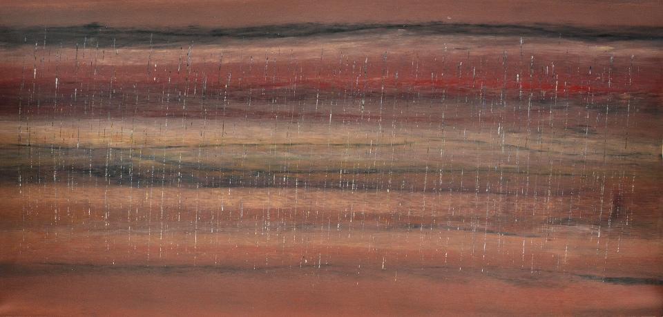 Stinging Rain Salmon Season - RNC20150303 by Rosella Namok