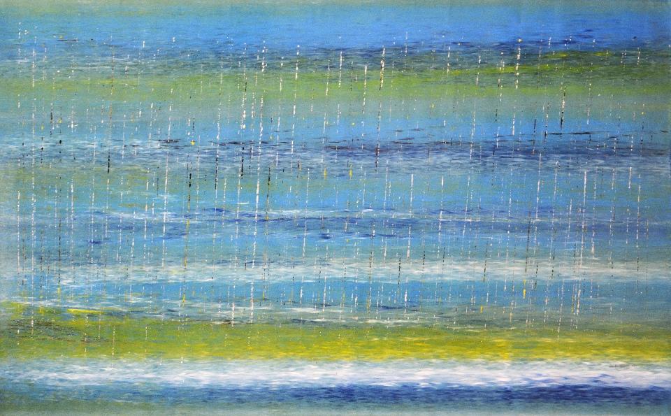 Stinging Rain... Ya Come - RNALR17-365 by Rosella Namok
