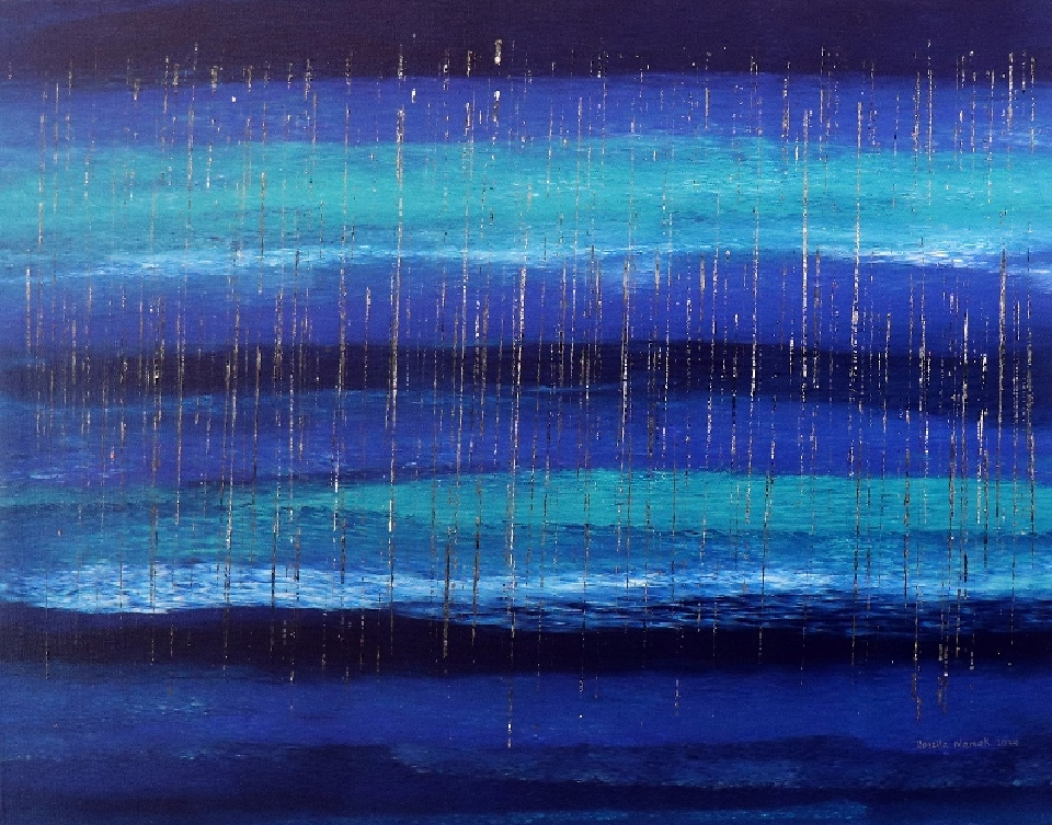 Clear Water Stinging Rain - RNALR20-53 by Rosella Namok
