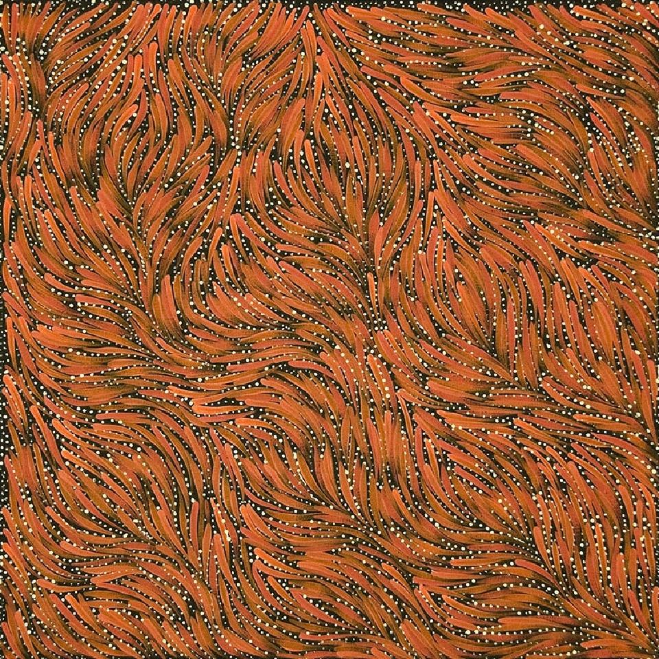 Bush Yam Seeds - RPEAR201015 by Rosemary Petyarre