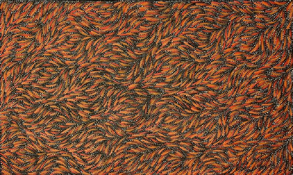 Bush Yam Seed - RPEG0193 by Rosemary Petyarre