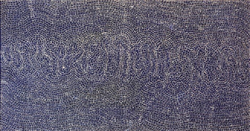 Mina Mina Jukurrpa (Mina Mina Dreaming) - Ngalyipi - SNRWU1401/14 by Sabrina Nangala Robertson