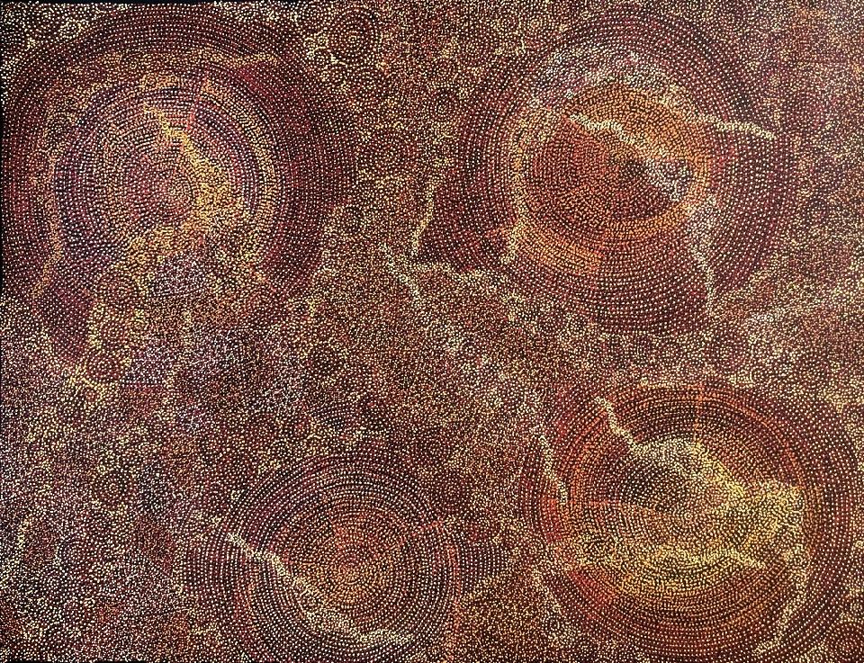 Ancestors - Dry Season - SKIG0641 by Sarrita King