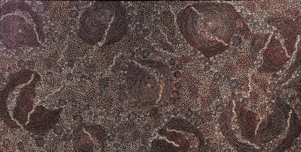 Ancestors - Dry Season - SKIG0645 by Sarrita King