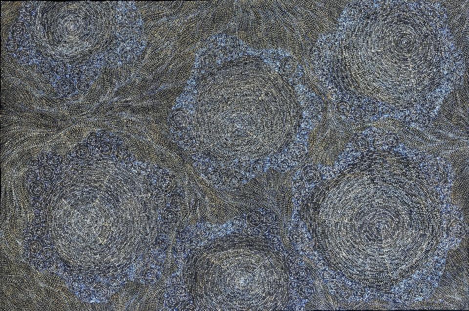 Ancestors - Wet Season - SKIG0654 by Sarrita King