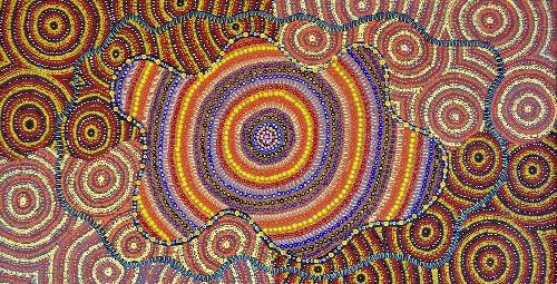 Watiya - Warnu Jukurrpa (Seed Dreaming) - TNCWU6297/19