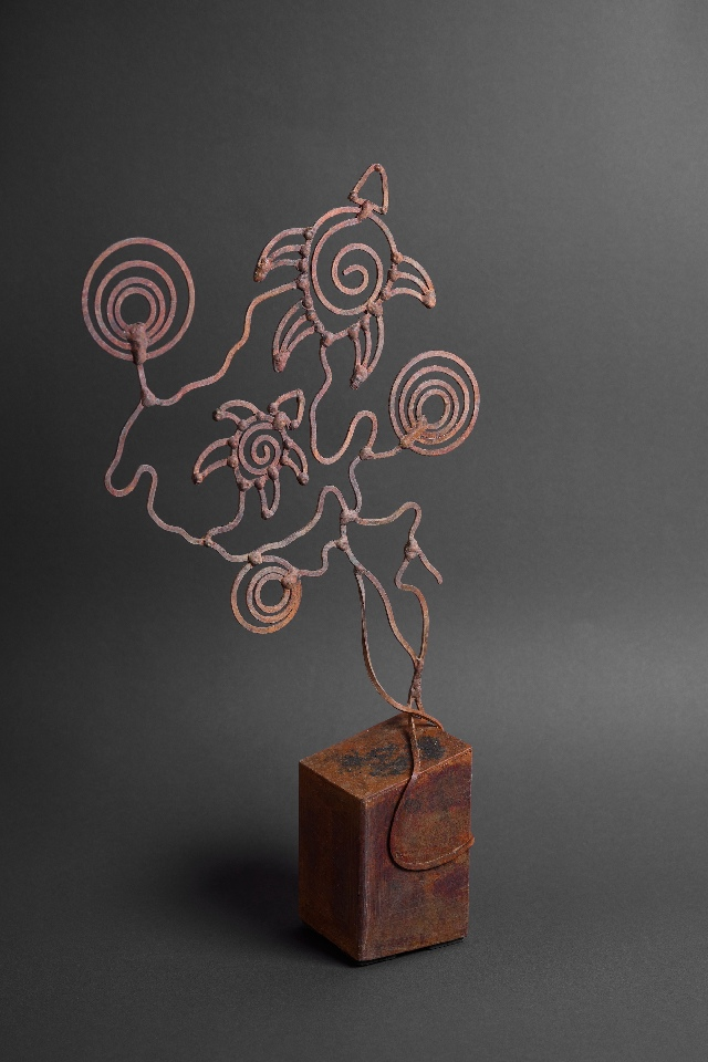 Turtles II Sculpture - TKIDDS21035 by Tarisse King
