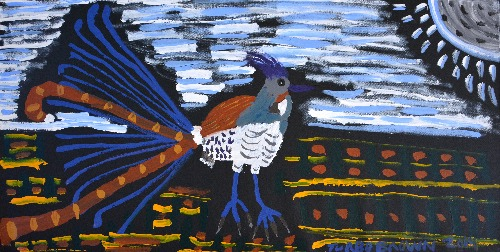 Lyre Bird in the Evening -TTBDD0024