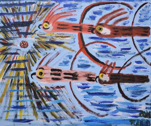 4 Galahs In The Sky - TTBU13664