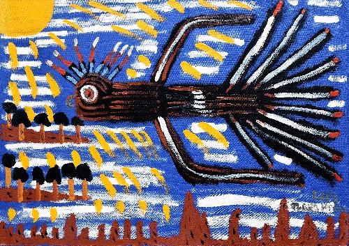 Black Cockatoo in the Morning Sun - TTBG0001