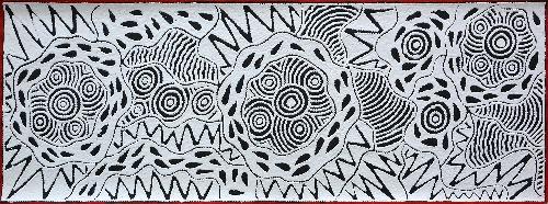 Pikilyi Jukurrpa (Vaughan Springs Dreaming) - UNHWU566/17ny