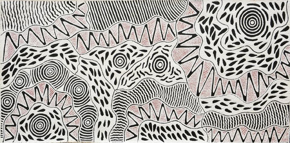 Pikilyi Jukurrpa (Vaughan Springs Dreaming) - UNHWU2256/18ny