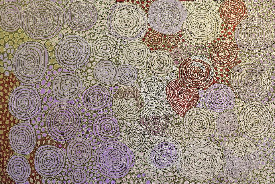 Tjintjintjin - Collaborative - WNAAH12251 by Walangkura Napanangka