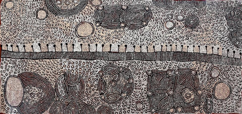 Untitled - YNAG0093 by Yinarupa Nangala