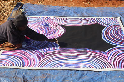 Aboriginal Dot Paintings And Their Origin
