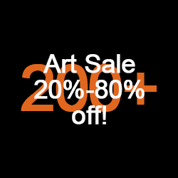 20 - 80 percent off 1000+ artworks