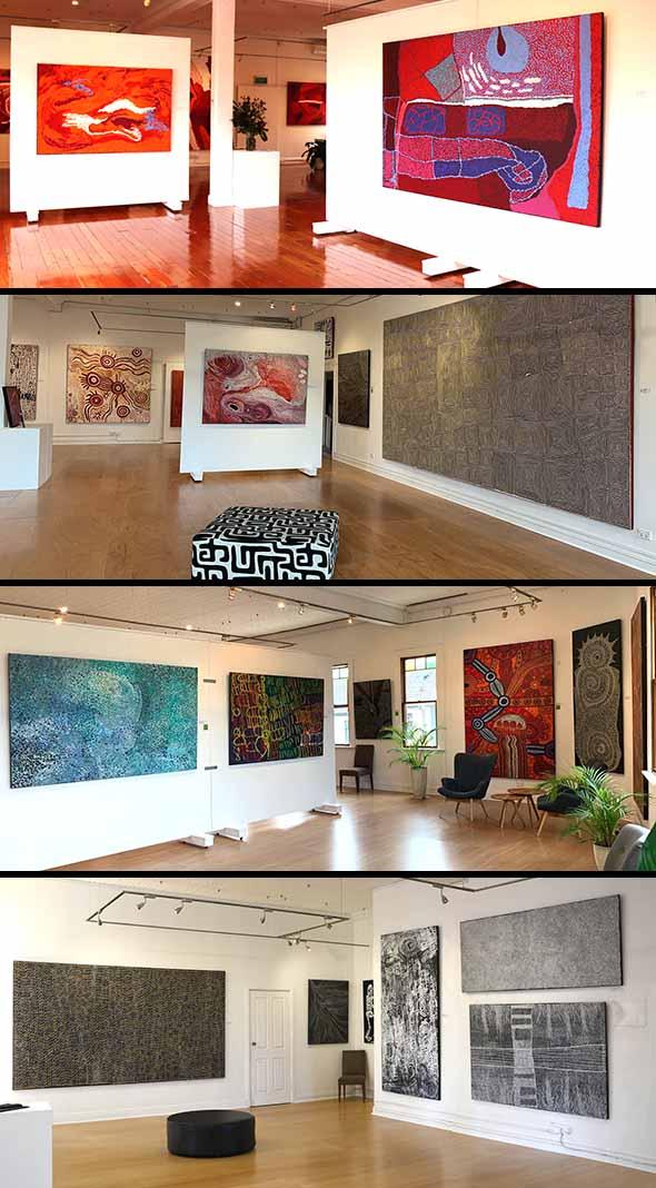 Three floors of amazing art!