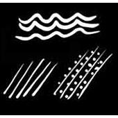 Flowing water or rain