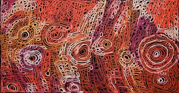 Charmaine Pwerle 'Awelye' (body paint)